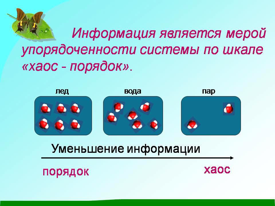 структура и свойства воды